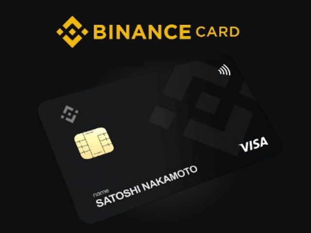 Visa karta od Binance
